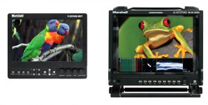 Professional Field & Camera Mount Monitors (Marshall)